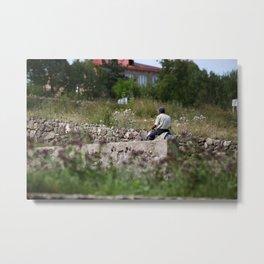 VILLAGER-ARMENIA  Metal Print