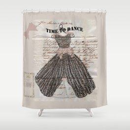 Time to Dance Shower Curtain