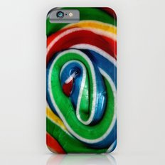 Swirl Rainbow Lollipop iPhone 6s Slim Case