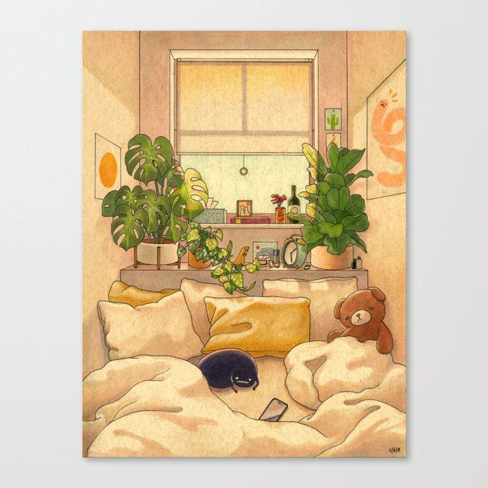 Cozy Space Leinwanddruck