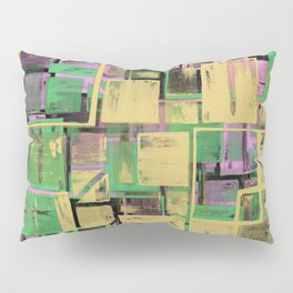 Pastel Thoughts - Abstract, textured, pastel painting Pillow Sham