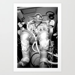 Mercury Atlas 9 Art Print