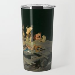 George Bellows - Forty-two Kids, 1907 Travel Mug