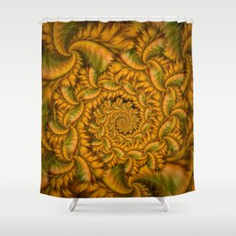 Feather Storm Shower Curtain