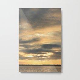 Seaside Sunset 02 Metal Print