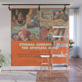 Eternal Sunshine Of the Spotless Mind - Michel Gondry Wall Mural