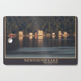 Houses on the Newfound Lake Cutting Board