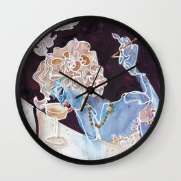 New Year's Champagne Wall Clock