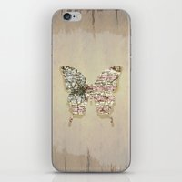 dallas iPhone & iPod Skins featuring dallas butterfly by Steffi Louis