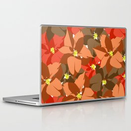Poinsettia Love Laptop & iPad Skin
