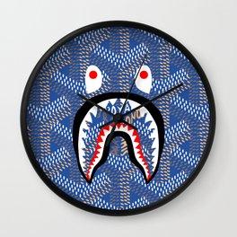 Goyard Bape Blue Wall Clock