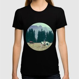 Cows and Mountains T-shirt