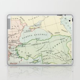 Old Map of The Roman Empire Laptop & iPad Skin