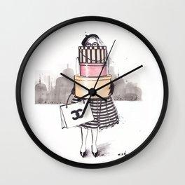 Shopping Junkie Wall Clock