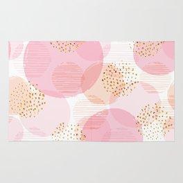 Pink Circles Rug