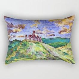 North Downs Rectangular Pillow