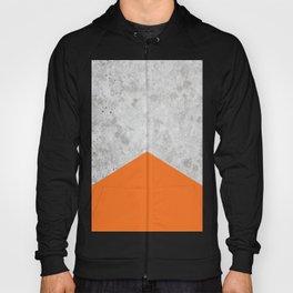 Concrete Arrow Orange #118 Hoody