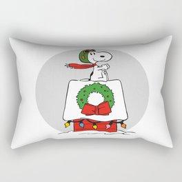 Snoopy Ace Rectangular Pillow