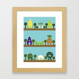 Vege House Framed Art Print