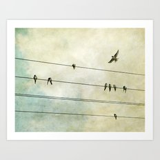 Spread My Wings And Fly Art Print
