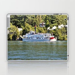 Minne-Ha-Ha Steamboat on Lake George Laptop & iPad Skin