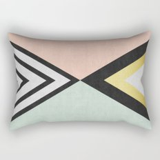 Minimalist fashion and golden I Rectangular Pillow