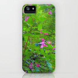 Magic flower (Polygonatum multiflorum) iPhone Case