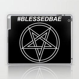 #BLESSEDBAE INVERTED Laptop & iPad Skin