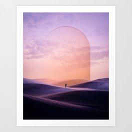 Solo Art Print