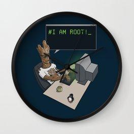 I am Root! Wall Clock