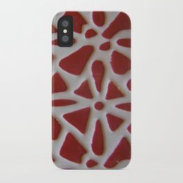 Red Stone Path iPhone Case