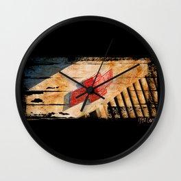 Chevy Rat Rod Badge Wall Clock
