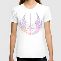 jedi T-shirts featuring Star Wars Jedi Flowers by foreverwars