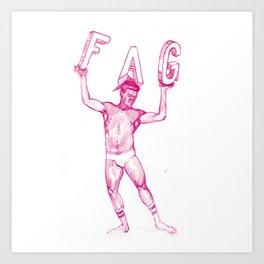 FAG 23 Art Print