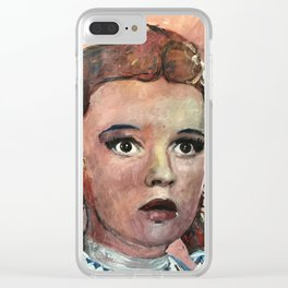 Judy Garland Clear iPhone Case