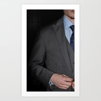 suits Art Prints featuring Suits by Photohn Photography