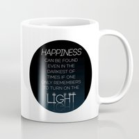 dumbledore Mugs featuring Harry Potter Albus Dumbledore Quote by raeuberstochter