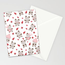 Winter Fox Stationery Cards