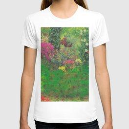 secret glitch garden T-shirt