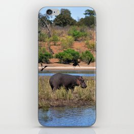 Hippo. iPhone Skin
