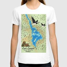Loch Lomond,Trossachs, Scotland, T-shirt