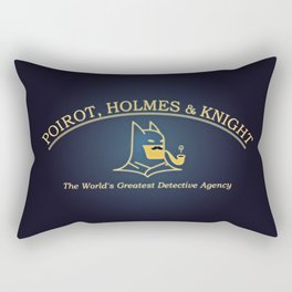 Great Detectives Rectangular Pillow