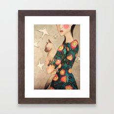 la reverie Framed Art Print