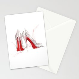 If the Runway Slipper Fits Stationery Cards