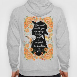 Anne Quote Hoody