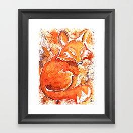 Fox (Spirit of the...) Framed Art Print