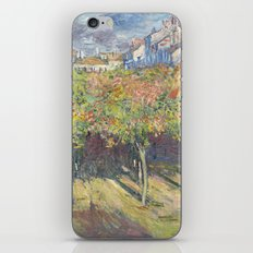 Les Tilleuls à Poissy by Claude Monet iPhone & iPod Skin