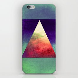 Triangle Composition VII iPhone Skin