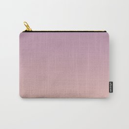 Sunset Gradient Purple Pink Peach Coral Carry-All Pouch
