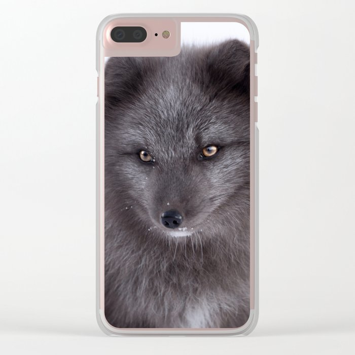 Black beauty #photography #society6 #art Clear iPhone Case